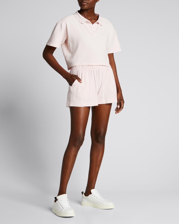 Birdie Cotton Pull-On Shorts