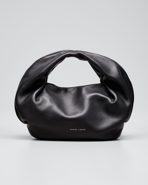 Lola Soft Leather Top-Handle Bag
