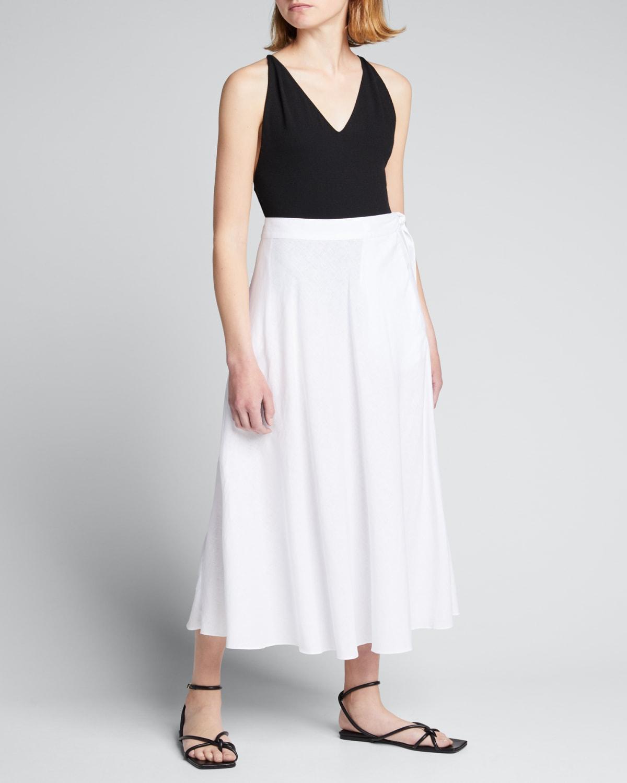 Jetset Half Circle Coverup Wrap Skirt