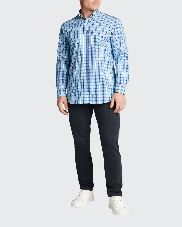 Men's Plaid Sport Shirt