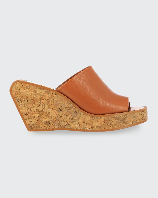Emilia Cork Wedge Sandals