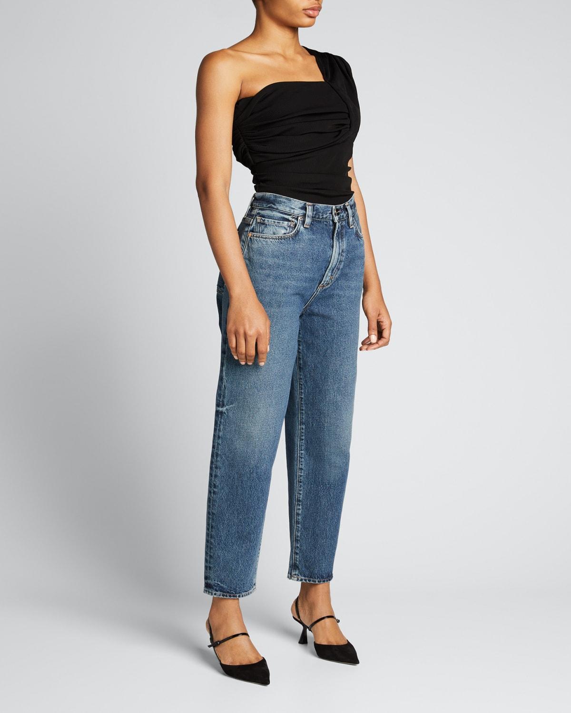The Peg Straight-Leg Jeans