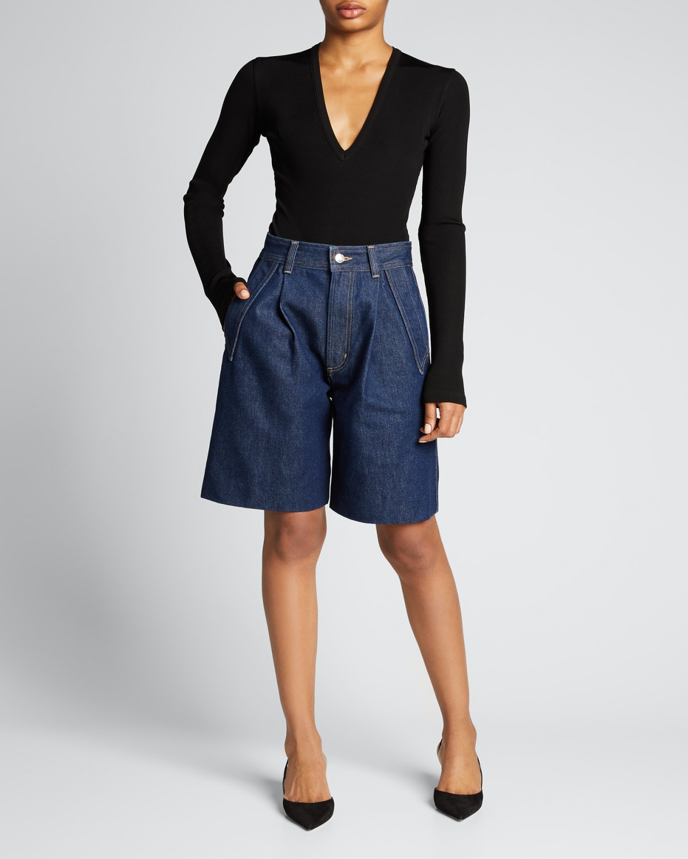 The Pieced Pocket Shorts