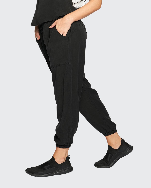 Cupro Jogger Pants