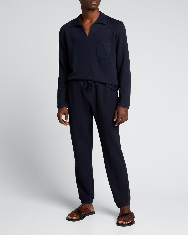 Men's Solid Drawstring Sweatpants