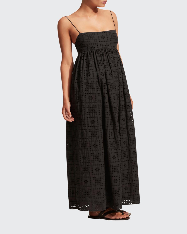 Crochet Broderie Empire Dress
