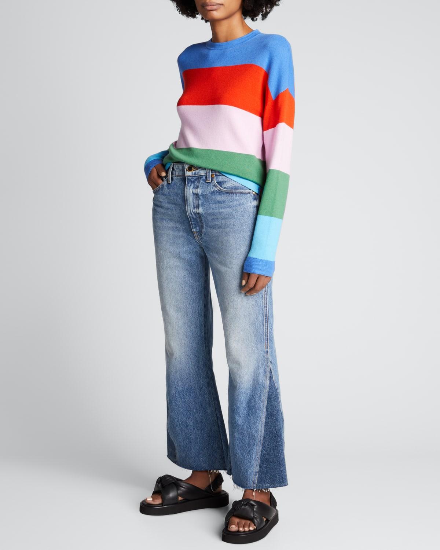 The Caspia Striped Sweater