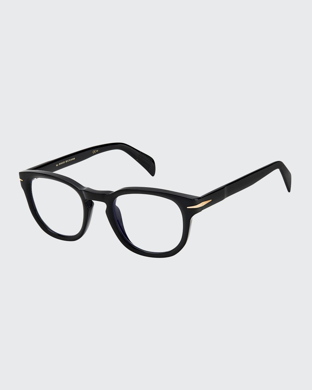 Men's Round Acetate Optical Frames