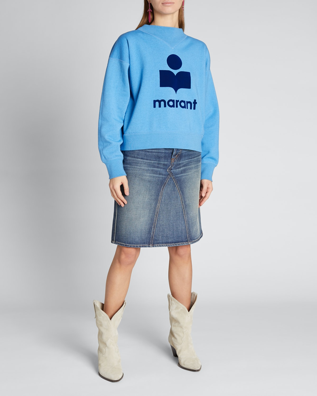 Moby Logo Sweatshirt