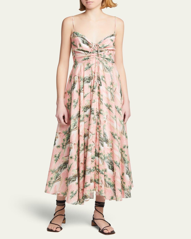 Maidstone Ruched Sleeveless Dress