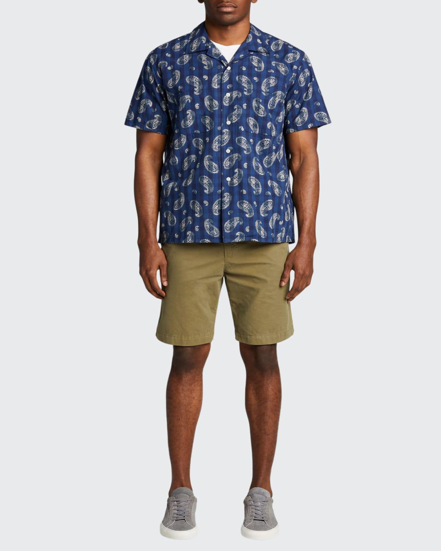 Men's Paisley Check Camp Shirt