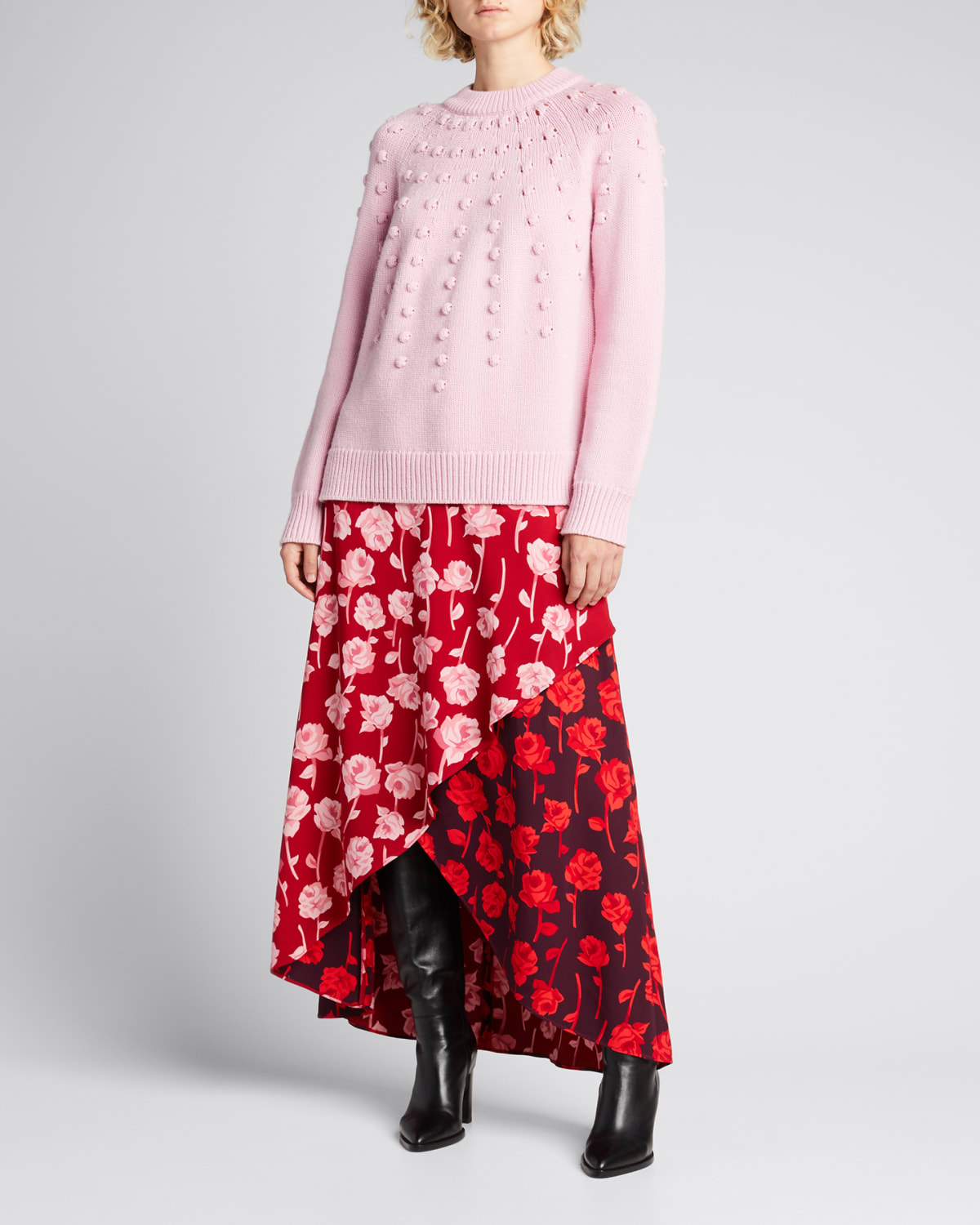 Dotted Wool Sweater