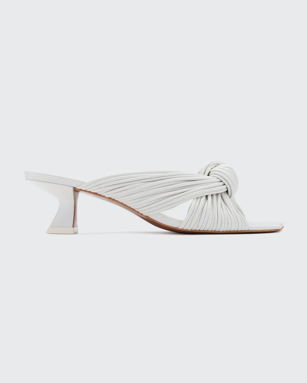 Bianca Strappy Knot Slide Sandals