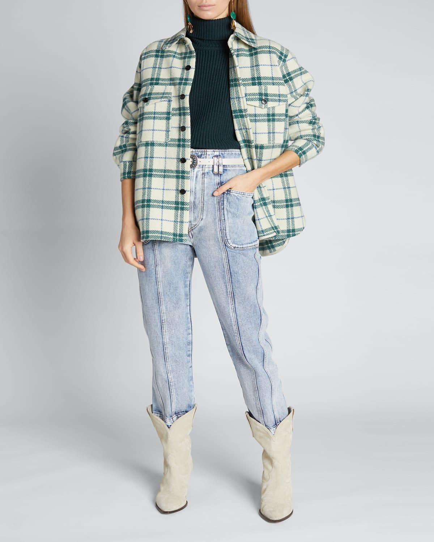 Faxon Plaid Wool Jacket