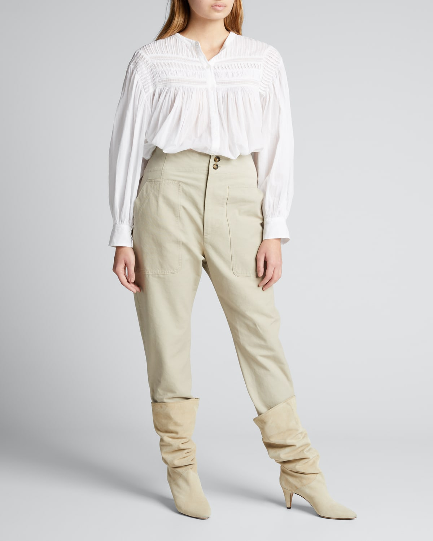 Pralunia High-Rise Pants