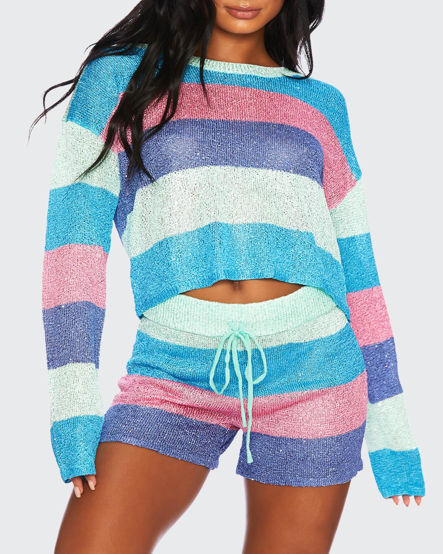 Mod Stripe Sweater