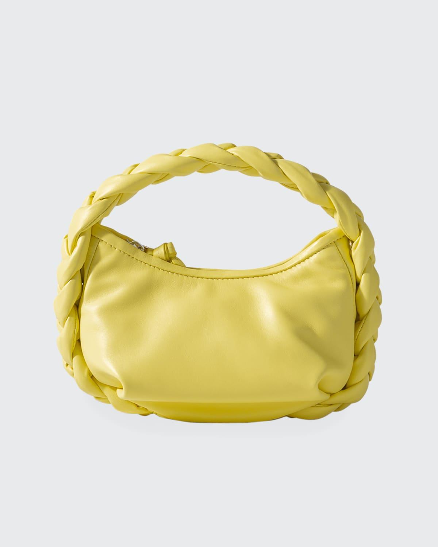 Espiga Mini Braided Top-Handle Crossbody Bag