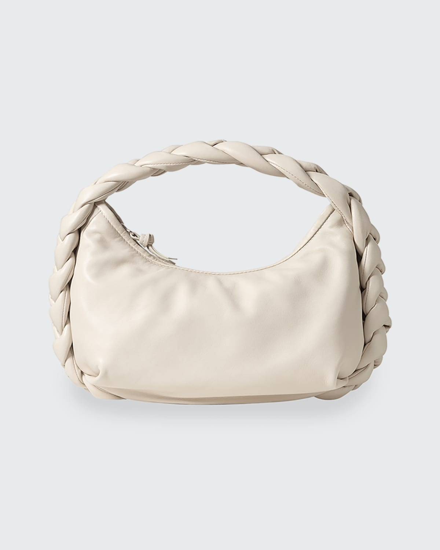 Espiga Braided Large Leather Shoulder Bag