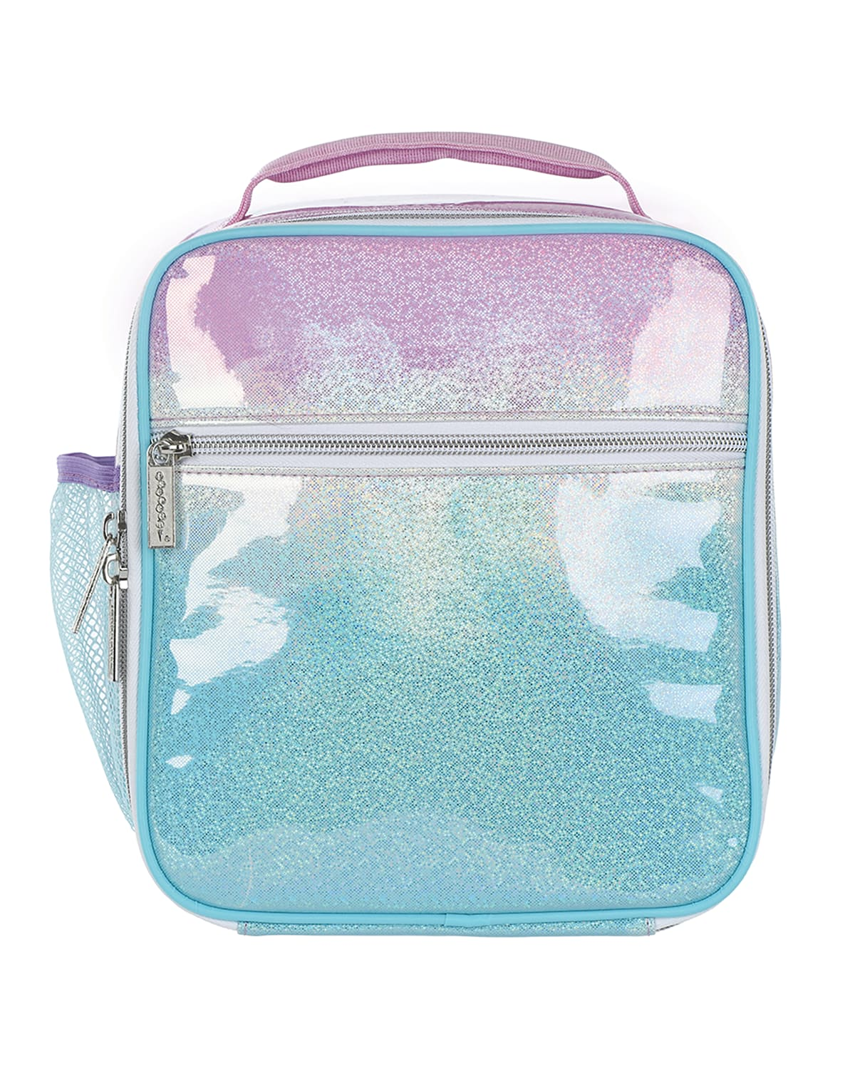 Girls Sparkling Ombre Lunch Tote
