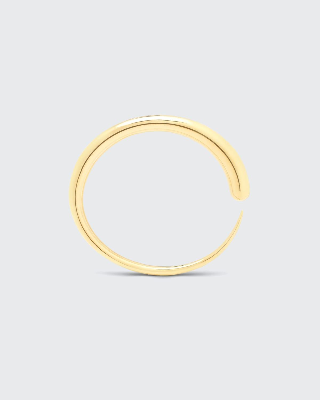 Khartoum Bangle Nude 18K Gold Vermeil Bangle in Signature Tapered Silhouette