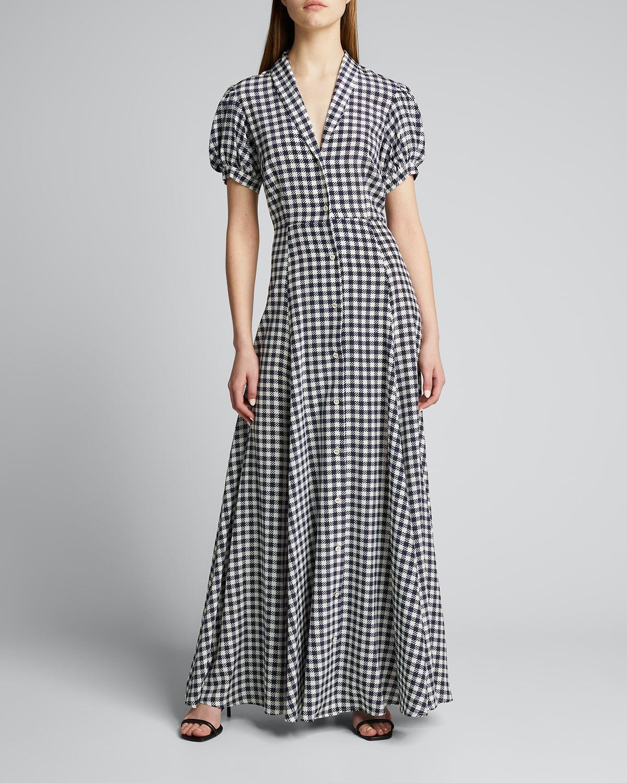 Bel Gingham Maxi Dress
