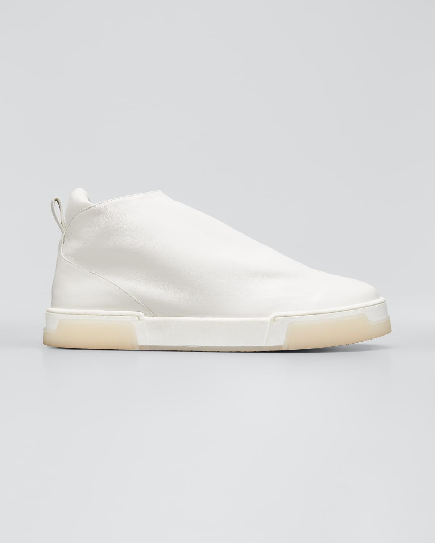 Stevie Calfskin Bootie Sneakers