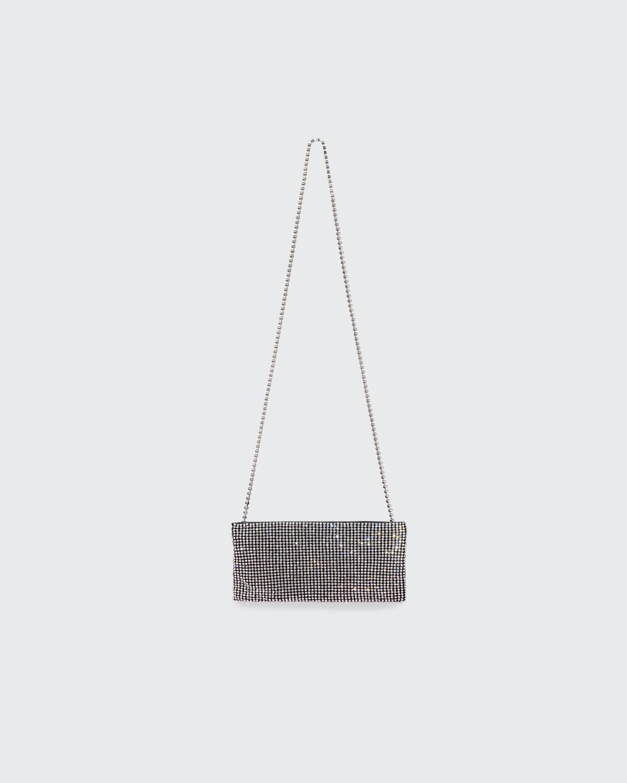 Your Best Friend Crystal-Embellished Mini Crossbody Bag