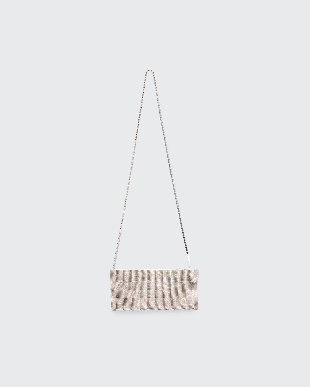 Your Best Friend Mini Crystal-Embellished Crossbody Bag
