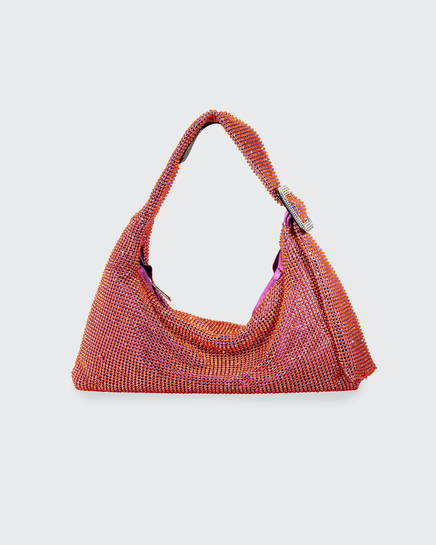 Pina Bausch Crystal-Embellished Shoulder Bag