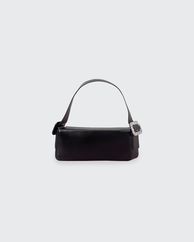 Fujiko Little Shoulder Bag w/ Embellished Buckle