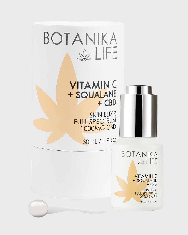 1 oz. Vitamin C + Squalane + CBD Skin Elixir