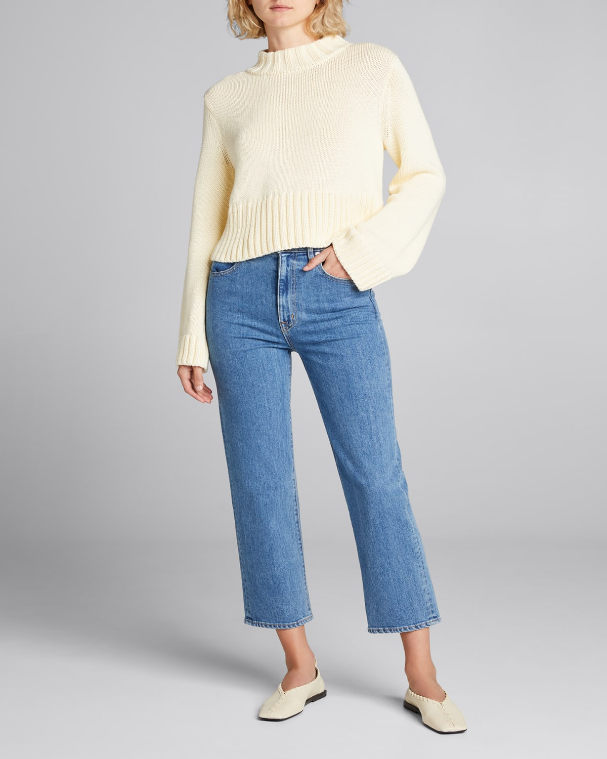 Verona Pullover with Ribbed Trim