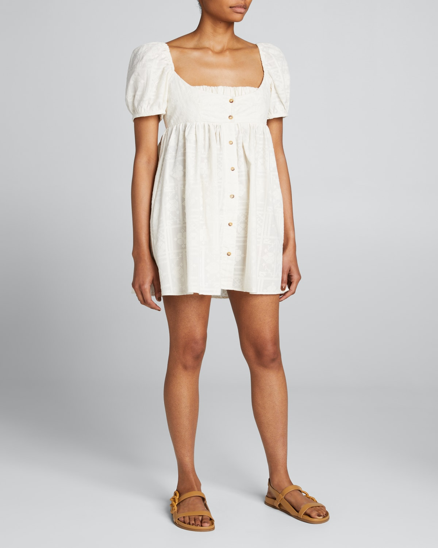Diana Button-Front Dress