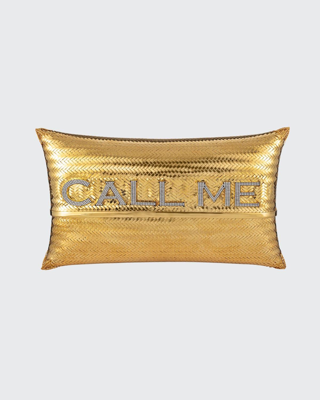 Call Me Golden Evening Clutch Bag