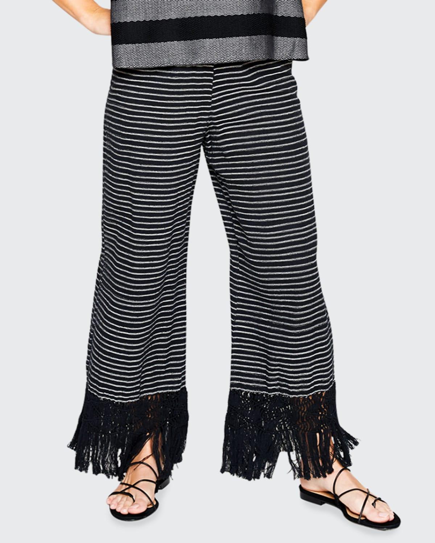 Tallulah Hand-Woven Macrame Pants