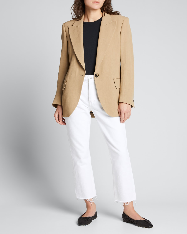 Karolina High-Rise Straight Crop Jeans