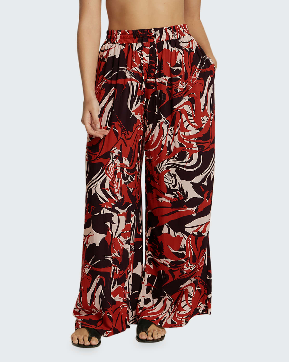 Casa Lucia Printed Coverup Pant