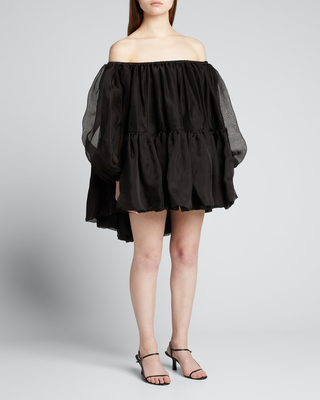 Ellie Off-Shoulder Mini Dress