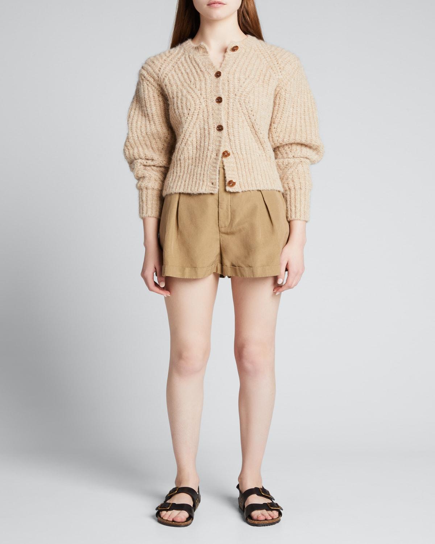 Titia Volume-Sleeve Sweater