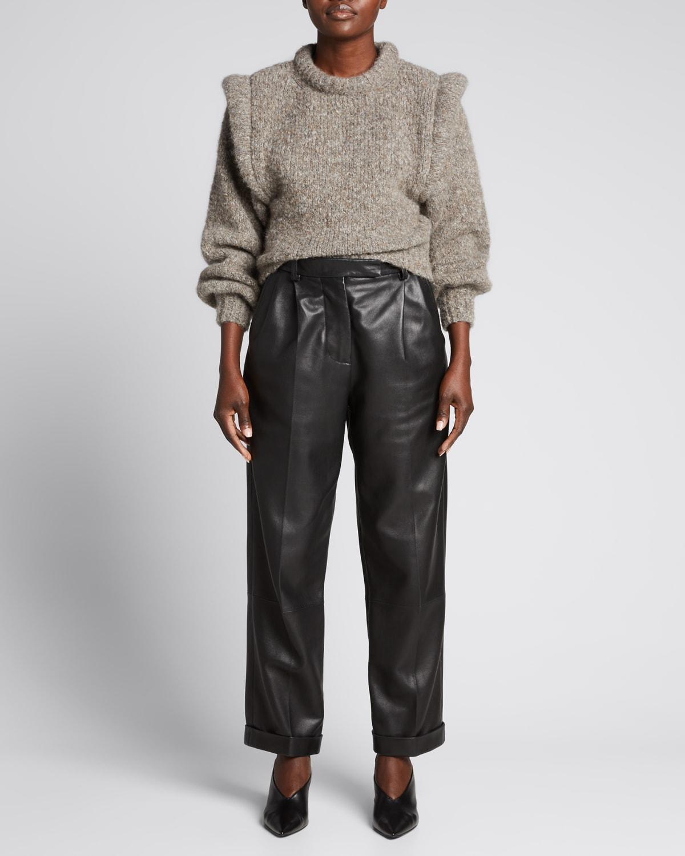Blakey Alpaca Melange Sweater