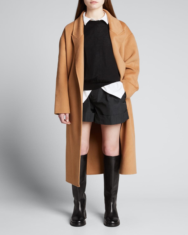 Etty Double-Face Wool Belted Coat