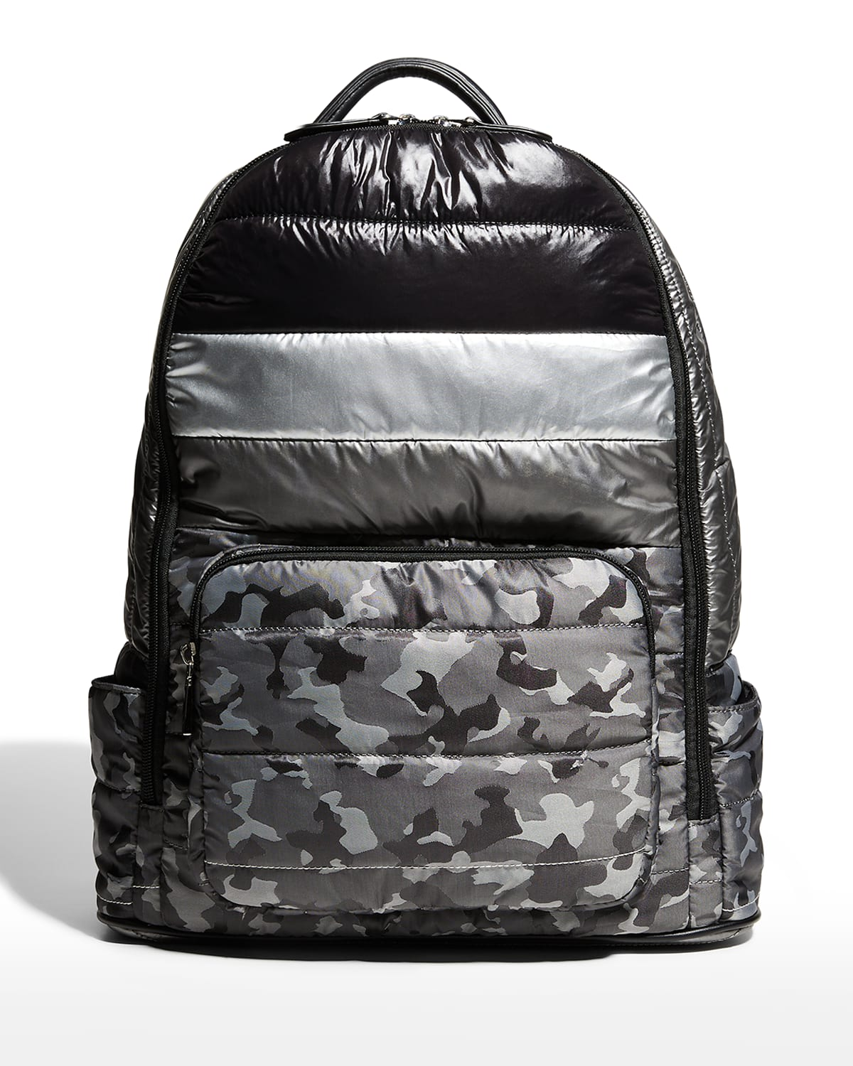 Kid's Camo-Print Quilted Backpack