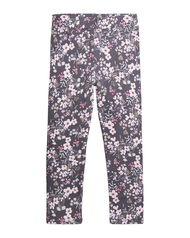 Girl's Alyssa Floral-Print Leggings