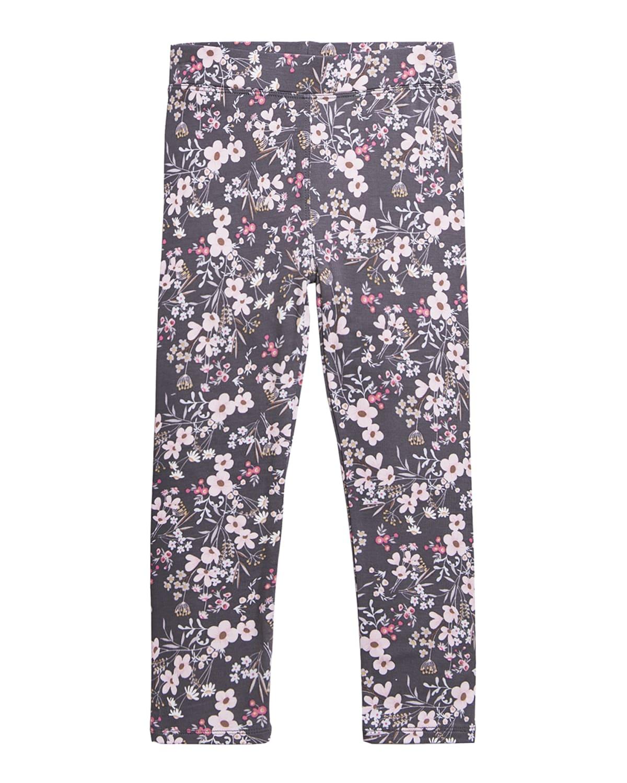 Girl's Alyssa Jersey Floral Print Leggings
