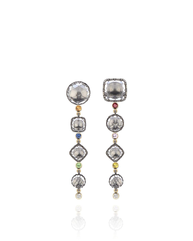 Sadie Cascade 4-Drop Earrings