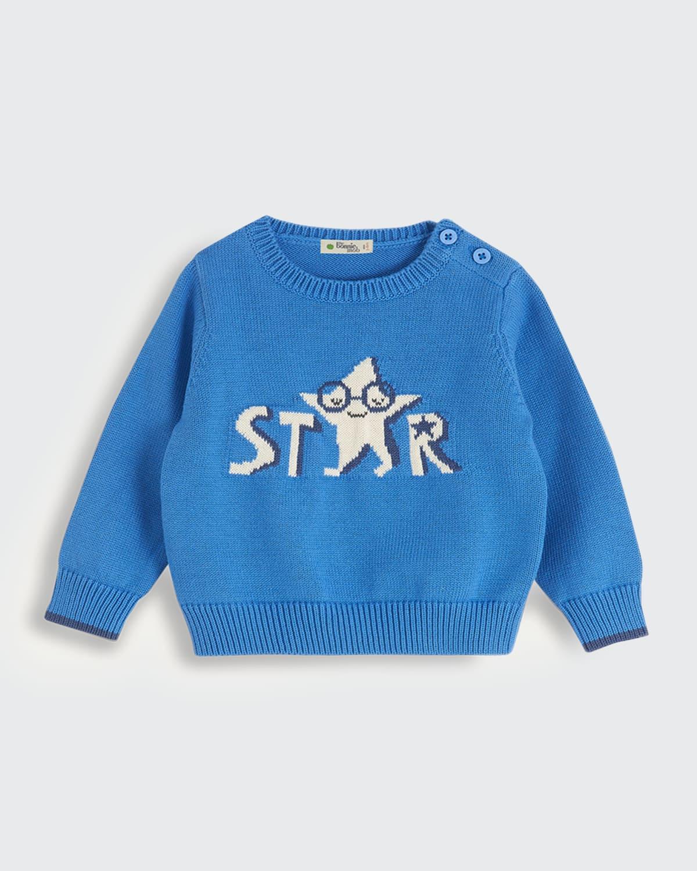 Kid's Lala Star Knit Sweater