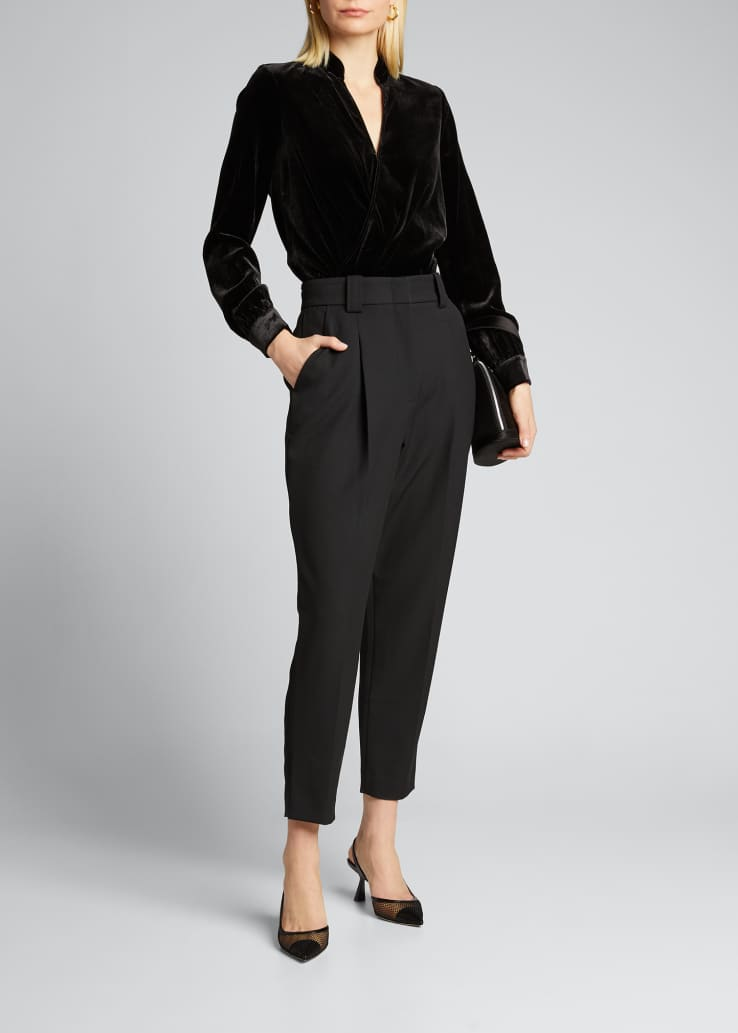 Colin High-Rise Ankle Pants