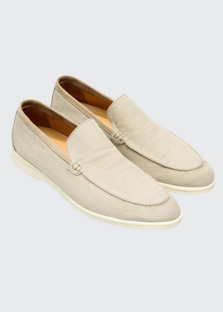 Men's Chevron Pattern Espadrille