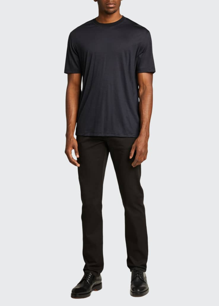 Men's Solid Wool T-Shirt