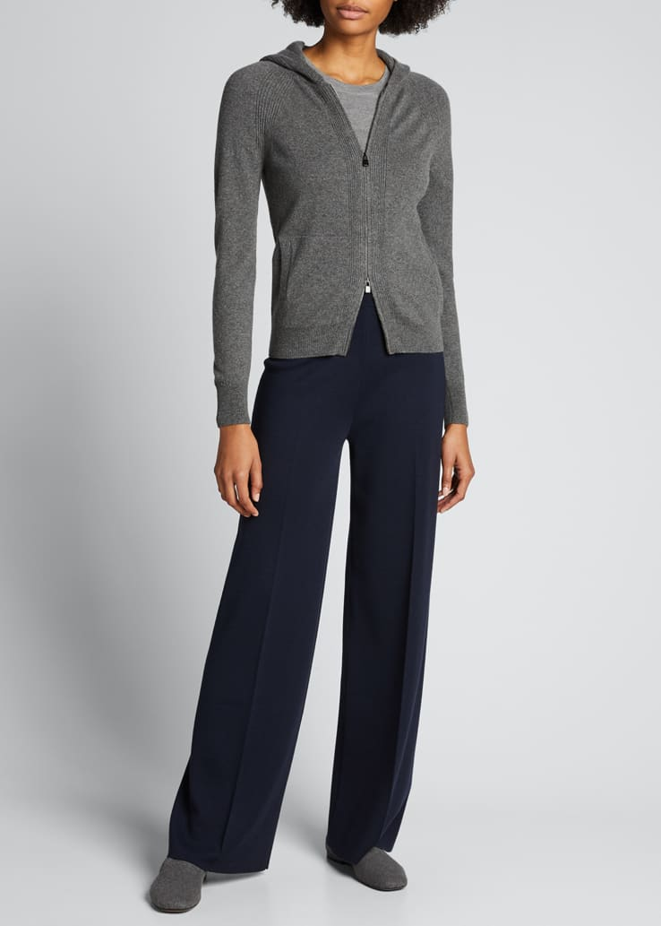 Fifth Avenue Cashmere-Silk Trousers